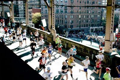 New York Marathon Picture Bridge